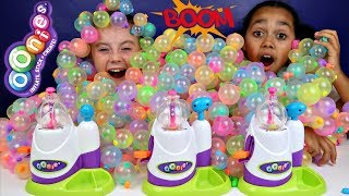 Learn Colors With Oonies Balloons - Surprise Balloon Pop Challenge For Kids