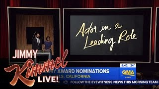 Jimmy Kimmel on Matt Damon's Oscar Nomination