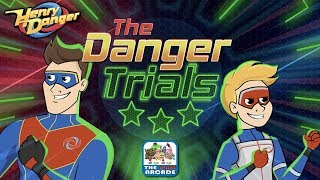 Henry Danger: The Danger Trials - Test Your Physical and Mental Skills (Nickelodeon Games)