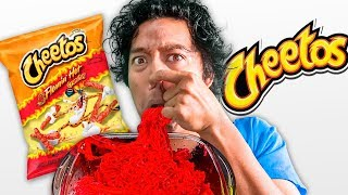 5 Course HOT CHEETO MEAL FOR A FRIEND WHO HATES RED....