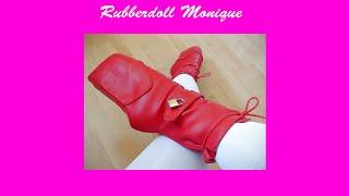 Rubberdoll Monique - My new heelless ballet boots