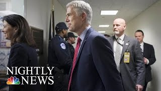 Even Democrats Finding It Hard To Dislike President Donald Trump's SCOTUS Nominee | NBC Nightly News