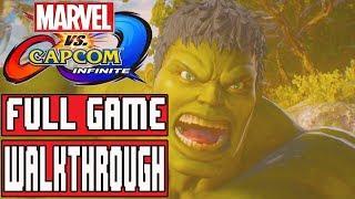 MARVEL VS CAPCOM INFINITE Gameplay Walkthrough Part 1 FULL GAME No Commentary