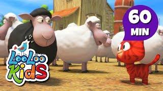 Baa, Baa, Black Sheep - Beautiful Songs for Children | LooLoo Kids