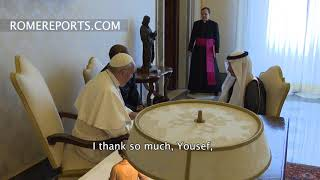 Pope meets with Secretary General of the Organization for Islamic Cooperation