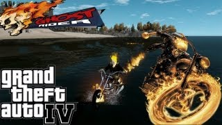 GTA IV LCPDFR Ghost Rider Police Patrol - Episode 4 - Who Would Win? Iron Man vs Ghost Rider vs Hulk