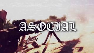 """ASOCIAL """"Krigsbarn"""" (taken from """"Död åt kapitalismen"""" gatefold LP) NEW ALBUM 2017!!"""