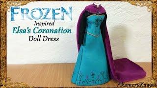 Elsa from frozen inspired dress