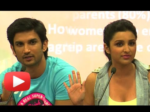 Parineeti Chopra, Sushant Singh Discuss On Sex & Live In Relationship