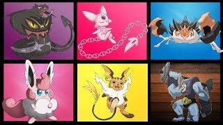 All Kanto Pokemon in Mega Evolution - Generation 1 Megas!