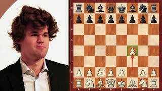 The Bird is the Word but is it greater than the Word?! Magnus Carlsen Chess game example