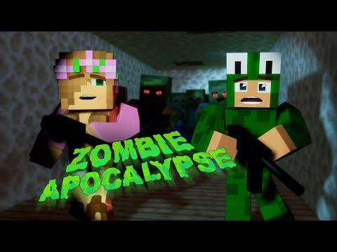 Zombie Apocalypse Challenge! CAN I ESCAPE WITH LITLE KELLY!?