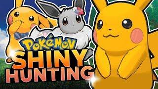 LIVE SHINY PIKACHU HUNTING! Pokemon Let