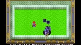 Ys IV Mask of the Sun (SNES) - Boss 03. Dark Knight (No Damage & Magic)