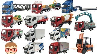 Car carrier videos for kids | Lorry videos for children | Cement mixer truck for kids | Truck toys