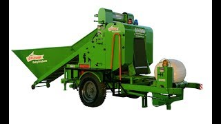 corn Silage baler and Wrapper