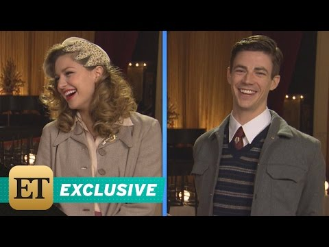 EXCLUSIVE The Flash and Supergirl Musical Go Behind the Scenes of Kara & Barry s Tap Dancing …