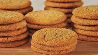Ginger Cookies Recipe Demonstration - Joyofbaking.com