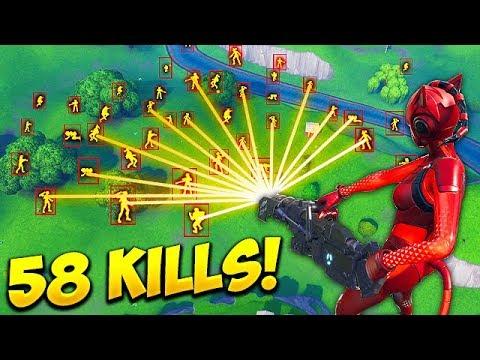 HACKER GETS 58 KILLS SOLO Fortnite Funny Fails and WTF Moments 447