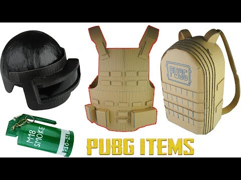 Xxx Mp4 How To Make PUBG ITEMS Compilation Level 3 Helmet Smoke Bomb Lvl 3 Military Vest Lvl3 Backpack 3gp Sex