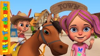 Yankee Doodle Went To Town | Nursery Rhymes for Children by Little Treehouse
