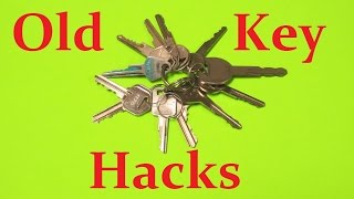 Old Key Life Hacks - Reusing Old Keys