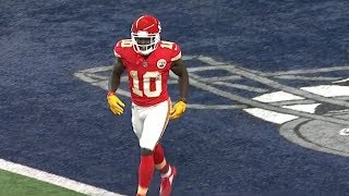 Tyreek Hill INSANE Miracle Touchdown Before The Half!   Chiefs vs. Cowboys   NFL