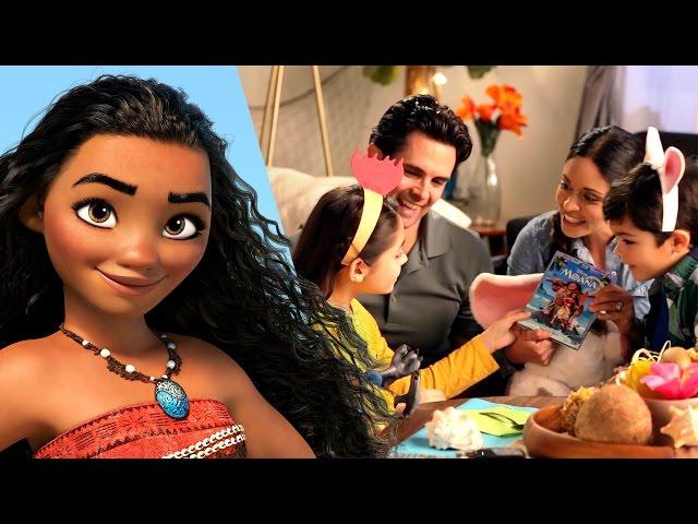 Create A Moana Themed Movie Night | Disney Family