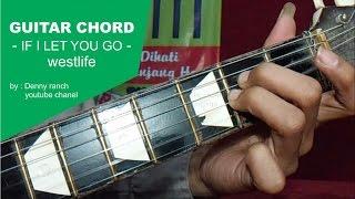 GUITAR CHORD - IF I LET YOU GO - westlife