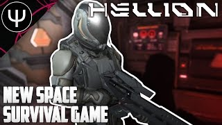HELLION — First Impressions — NEW Space Survival Game!