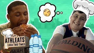 Luther Muhammad Goes To Favorite Food Spot With HILARIOUS 11 YEAR OLD! Luther vs Luca In DANCE OFF!