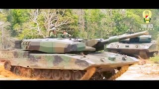 Indonesia Army - Leopard 2RI Main Battle Tank In Action [720p]