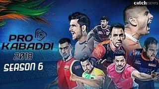 Pro Kabaddi 2018 season 6 ( first match date)