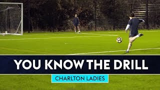 6 Station Shooting Challenge | Charlton Ladies | You Know The Drill