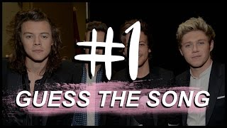 Guess the Song - One Direction // 1D SONG QUIZ #1