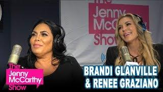 Brandi Glanville and Renee Graziano on The Jenny McCarthy Show