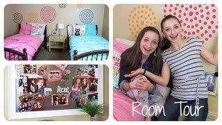 Teen Girl Room Tour   Brooklyn and Bailey