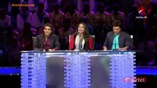 Chaavat Boys @ Indias Dancing Super Stars Dance Trials..