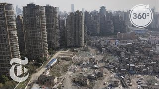 Shanghai Holdout Defies a High-Rise Boom   The Daily 360   The New York Times