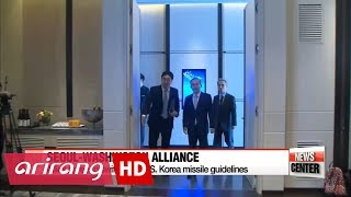 Seoul, Washington to strengthen defense posture through swift revision of missile guidelin