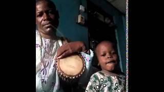 Ilu dundun (talking drum)