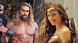 Justice League - B-Roll, Bloopers and Behind the Scenes (2017)