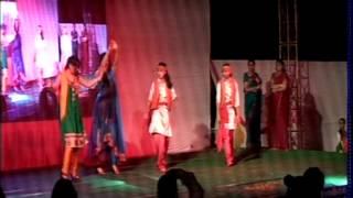 Punjabi Dance by Prabhleen sandhu at Mahila P.G. Mahavidyalaya