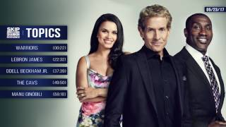 UNDISPUTED Audio Podcast (5.23.17) with Skip Bayless, Shannon Sharpe, Joy Taylor | UNDISPUTED