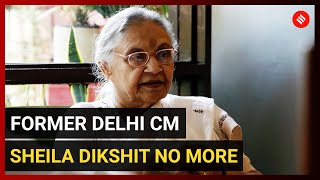 Former Delhi Chief Minister Sheila Dikshit passes away at 81