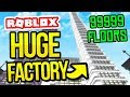 Download Video Download BIGGEST FACTORY EVER... 99999 FLOORS in ROBLOX FACTORY SIMULATOR 3GP MP4 FLV