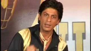 SRK launches Kolkata KNIGHT RIDERS '2 Hot 2 Cool'