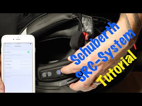 Xxx Mp4 How To Use Operate Schuberth SRC Bluetooth Headset System For C3 Modular Helmet Complete Guide 3gp Sex