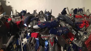 PrimeVsPrime's Entire Transformers Movie Universe Optimus Prime Collection Video (September 2017)