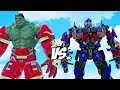 Download Video Download IRON HULK vs OPTIMUS PRIME (Transformers) 3GP MP4 FLV